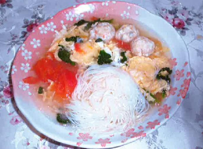 鶏三昧スープ