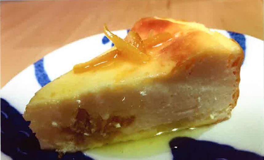 ナルトオレンジチーズケーキ
