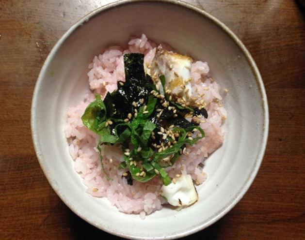 桜・焼鯛のまぜご飯