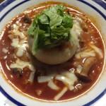 まるごとトマ玉スープ