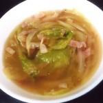 玉ねぎレタススープ