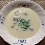 白菜・玉葱・牡蠣スープ